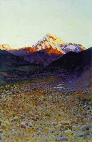 В горах (Верещагин В.В.)