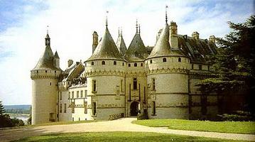 Замок Шомон-сюр-Луар (Франция)