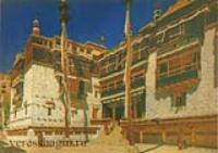 Монастырь Хемис в Ладаке. 1875
