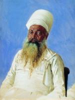 Священник парс (огнепоклонник). Бомбей. 1874-1876