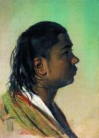 Портрет мальчика-узбека. 1860-е годы