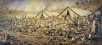 После атаки. Перевязочный пункт под Плевной. 1881