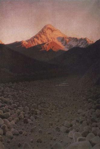 Гора Казбек (Верещагин В.В.)