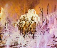 Возвращение из Петровского дворца. 1895