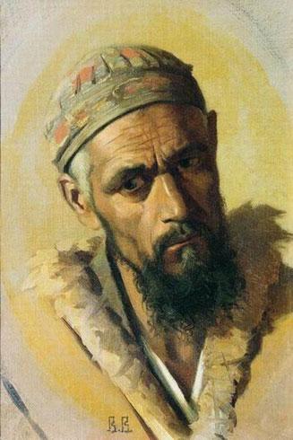 Портрет цыгана (Верещагин В.В.)