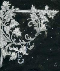 Виньетка в стиле рококо