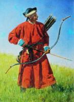 Бухарский солдат (сарбаз).1873