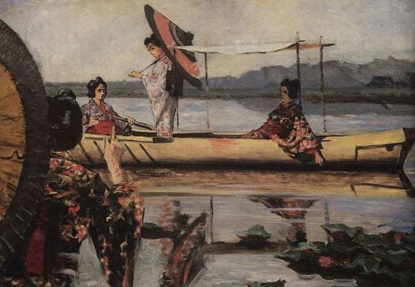 Прогулка в лодке (Верещагин В.В.)
