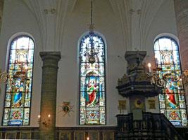 Декор немецкой церкви